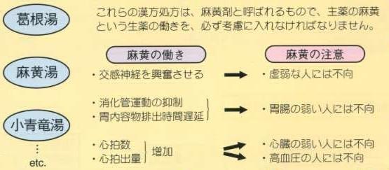風邪治療に用いられる代表的な漢方薬とその働き・副作用